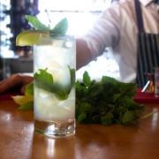 Finns Victoria BC - Mojito Cocktail
