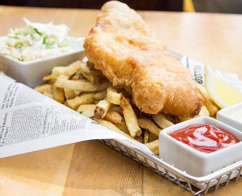Finns - best fish and chips in Victoria BC