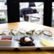 oysters on the halfshell at Finns in Victoria BC
