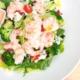 finns chopped prawn salad