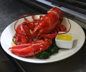 live lobster dinner in victoria