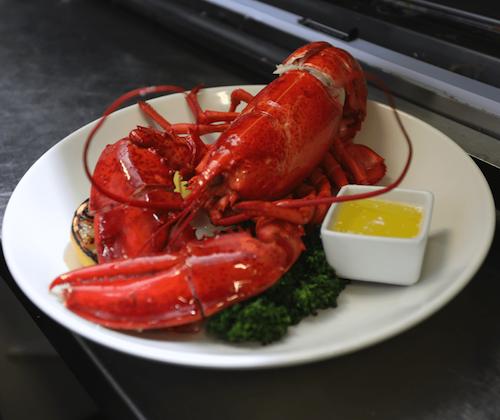 live lobster dinner in victoria